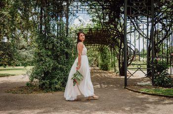 5 consejos para agregarle volumen a la falda de tu vestido de novia