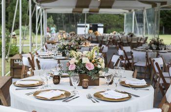 Decoración con flores para casamientos en primavera y verano
