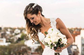 30 peinados de novia que tenés que ver antes de tu casamiento