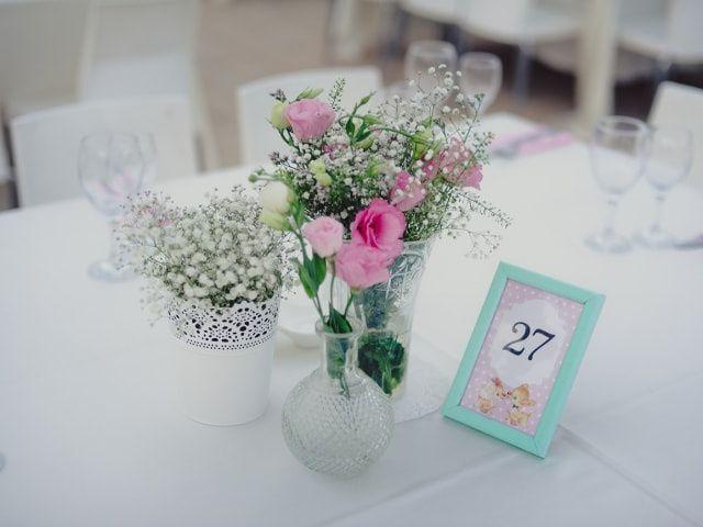 20 centros de mesa para un casamiento vintage
