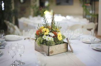 10 ideas originales para decorar las mesas del casamiento