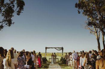 Las 6 cosas que no se deben decir a los novios el día del casamiento