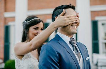 7 ideas para sorprender al novio el día del casamiento