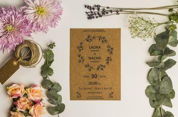 Estas son las 10 cosas que tenés que saber sobre la papelería del casamiento