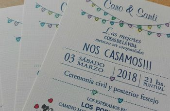 30 frases románticas para incluir en las tarjetas de casamiento