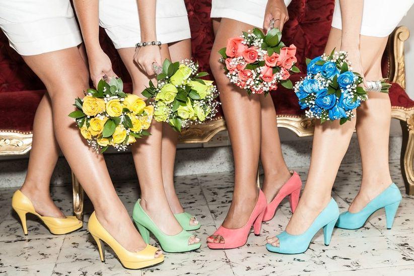 f2ac0be5 Un entretenido juegos de colores y vestuario para que las damas de honor  sean las encargadas de entregar tonalidad a tu ceremonia de matrimonio.