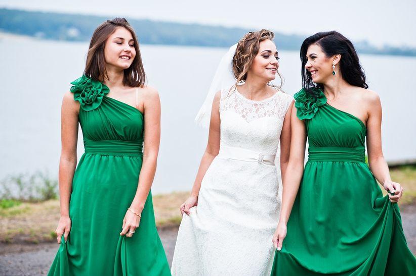 Vestidos para la amiga de la novia