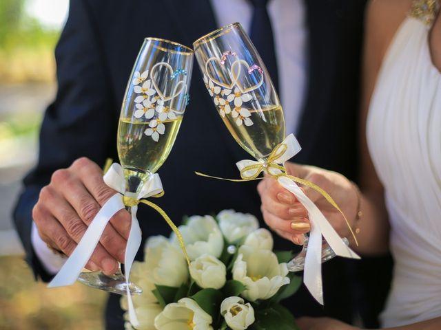 6 ideas para decorar las copas del brindis