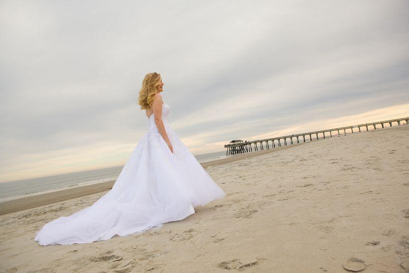 Tipos de colas de vestidos de novia