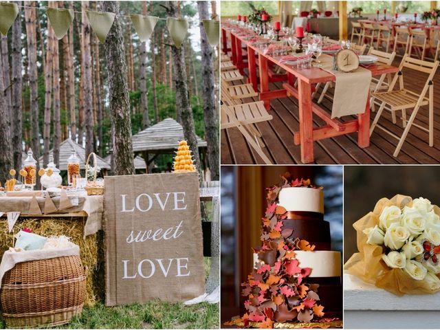 Decorá tu casamiento con los colores de moda otoño - invierno