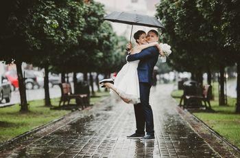 ¿Qué hacemos si llueve el día del casamiento?