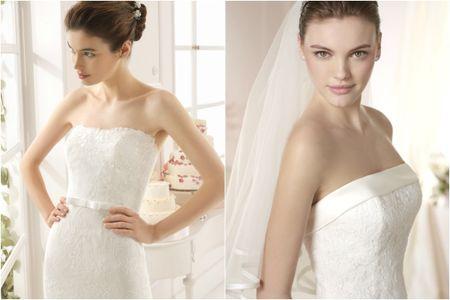 Tipos de escote en los vestidos de novia