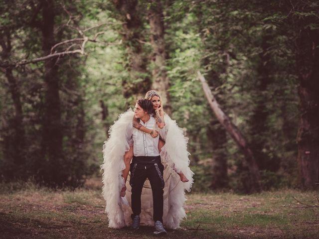 Sara y Micheal en el país de las maravillas: una boda de cuento de hadas