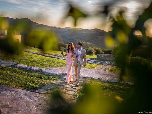 Danielle y Brent: un casamiento soñado hecho realidad