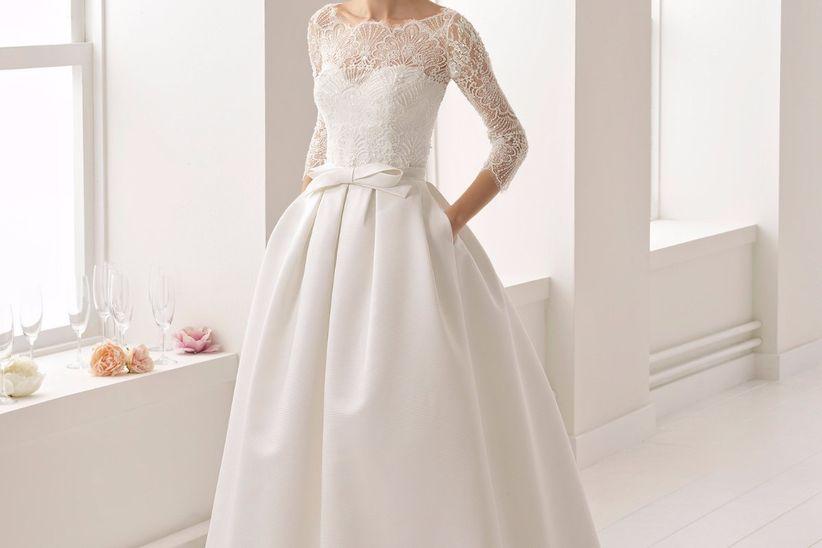 a9bb85e2a Diccionario de telas de vestidos de novia  Todo lo que tenés que saber