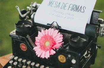 10 ideas únicas para el libro de firmas del casamiento