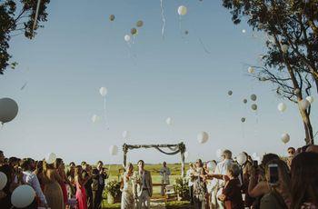 Sorprendan a sus invitados con estas 15 claves para un casamiento original