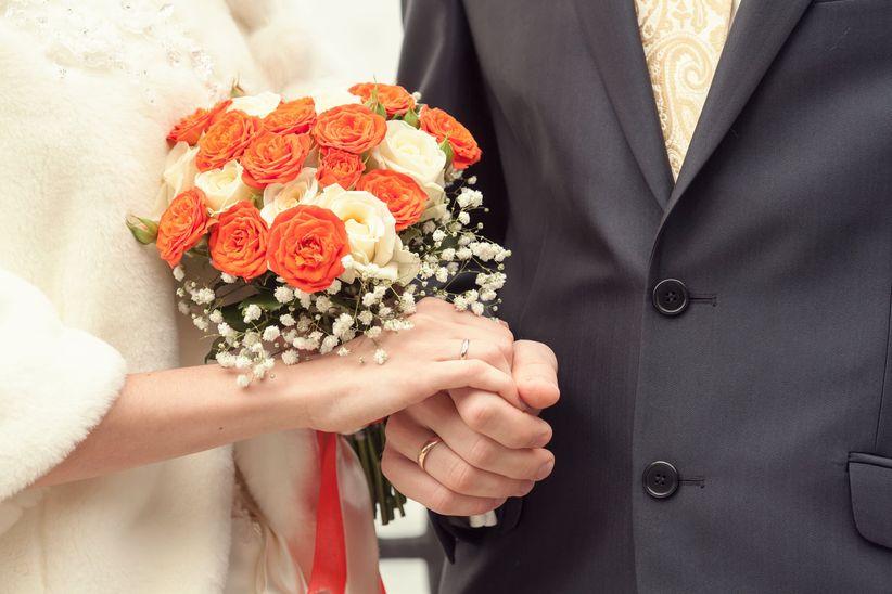 cómo elegir el ramo de novia para el civil? tipos de flores, tamaños