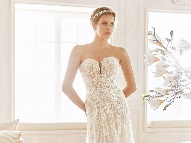 20 vestidos de novia corte imperio, uno de los favoritos de las novias