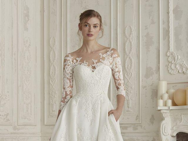 10 tipos de escote para tu vestido de novia