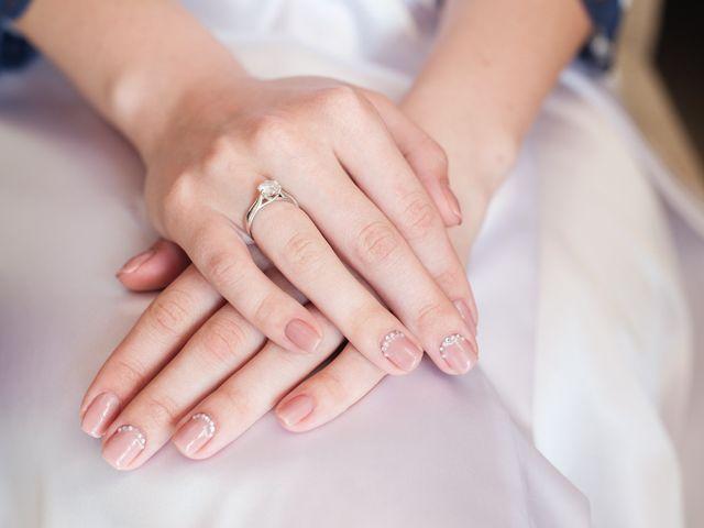 Nail art para novias, ¡manos protagonistas!