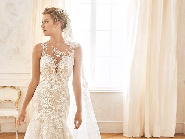 50 vestidos de novia con encaje ¡Te vas a enamorar a primera vista!