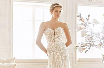 3972acdda3 20 vestidos de novia corte imperio