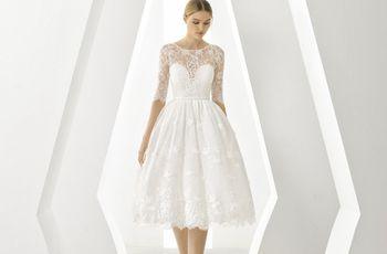 20 vestidos de novia cortos, una alternativa tan moderna como elegante