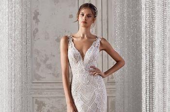 50 vestidos de novia vintage, aires nostálgicos y románticos para tu look