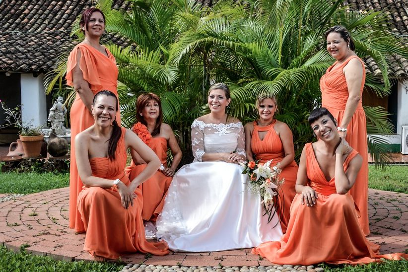 Vestidos de damas de honor originales