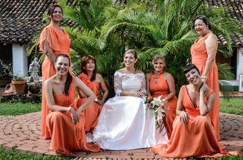 ¿Cómo deben vestir las damas de honor? Cortes, colores y texturas