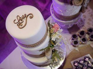 6 estilos muy dulces para la torta de casamiento