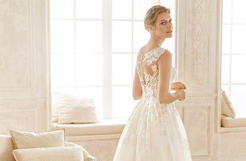 Descubrí la espalda perfecta para tu vestido de novia