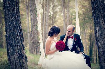 Esther y Ramón: una boda totalmente hecha a mano