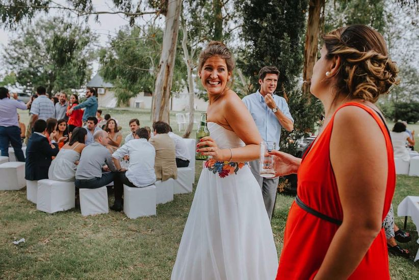Vestidas de novia descuidos