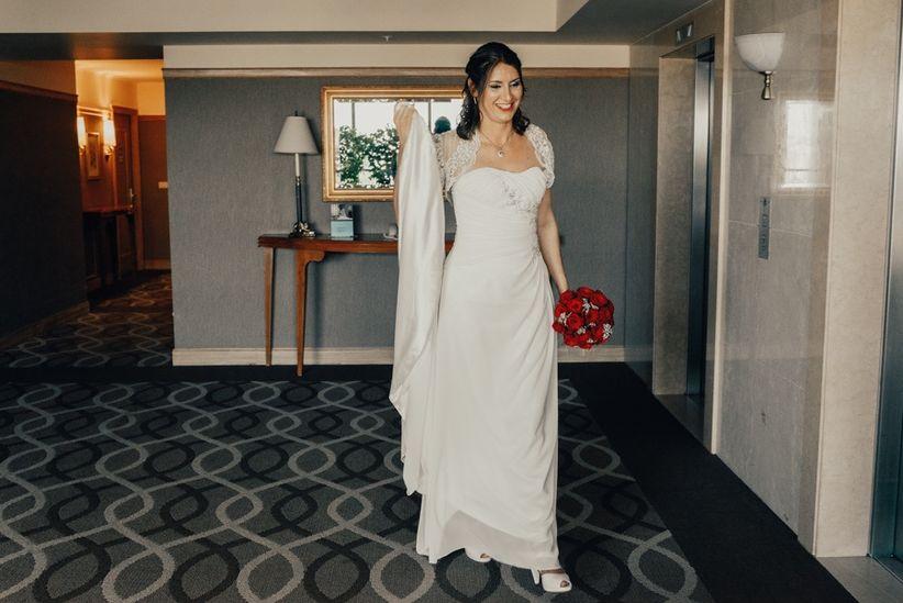 Tipos de tela para vestidos de novia