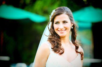 Elegí tus joyas en función del escote del vestido de novia