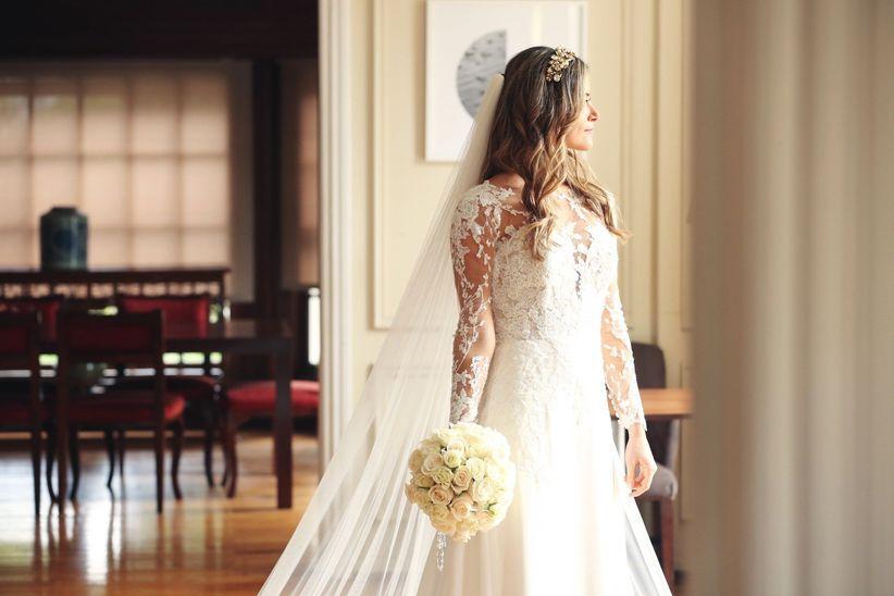 ee5eb48d8 Qué tipos de velos existen y cuáles combinan mejor con tu vestido