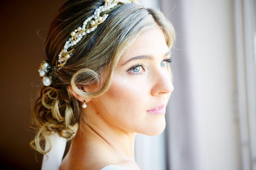 feaf61263 Diego Piuma. La variedad de peinados para novias ...