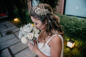 5 consejos para encontrar el tocado ideal para tu look de novia