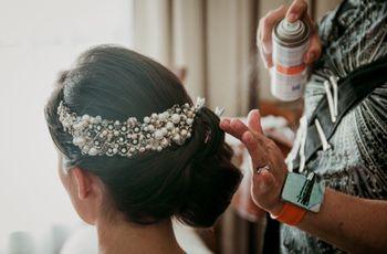 5 estilos de peinados recogidos para novias, ¿cuál es el tuyo?
